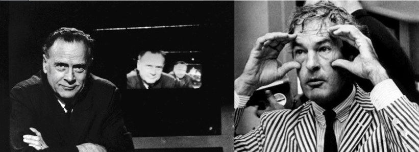 Marshall McLuhan and Timothy Leary